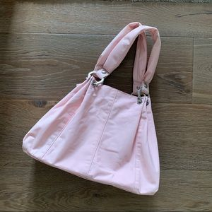 Gap purse - baby pink with cherry print